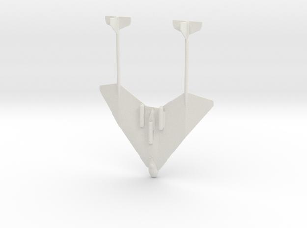 1:285 Arado E.555 in White Natural Versatile Plastic