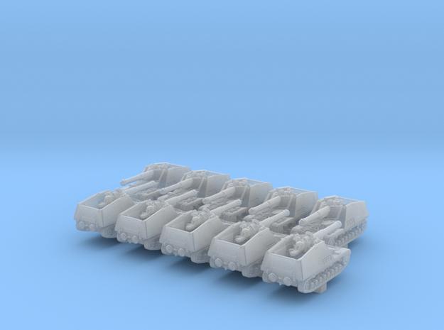 1/700 German Nashorn Tank Destroyer x10 in Smoothest Fine Detail Plastic