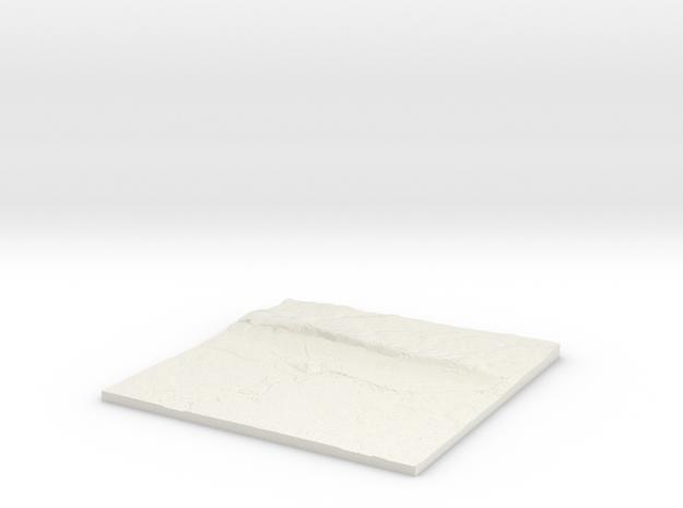 Cosham W460 S100 E470 N110  in White Natural Versatile Plastic