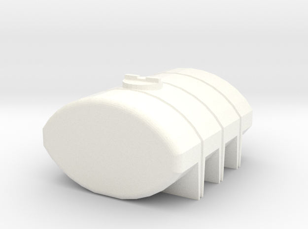 1/64 1035 Gallon Tank in White Processed Versatile Plastic