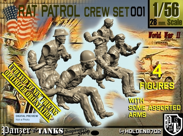 1/56 Rat Patrol Set001