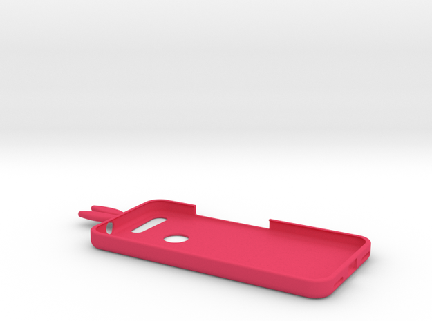 Google Pixel Bunny Case in Pink Strong & Flexible Polished