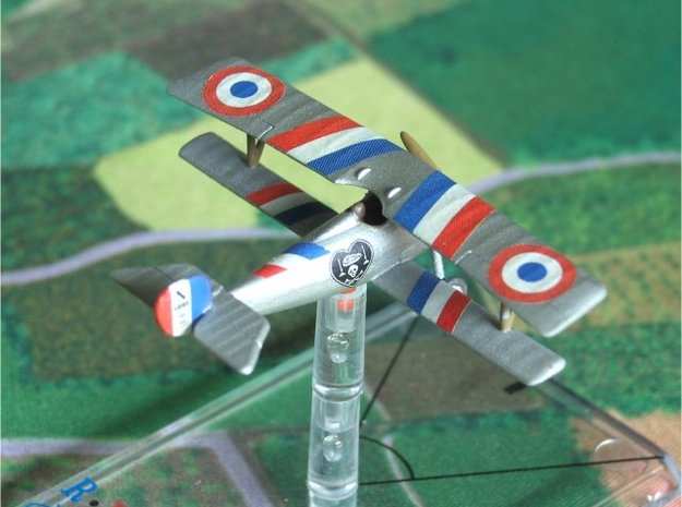 1/144 Nieuport 17bis (vickers) in White Natural Versatile Plastic