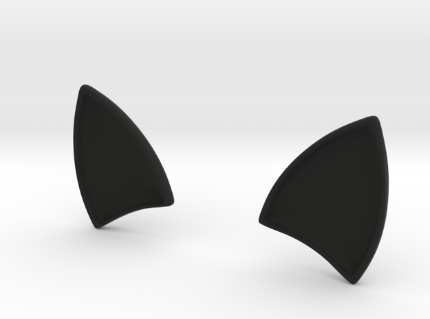 CATs EARS for dash board in Black Natural Versatile Plastic