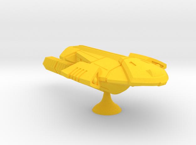 Ansata Eta V Transport - 1:7000 in Yellow Processed Versatile Plastic