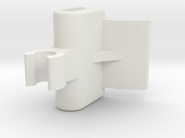 NISSAN XTRAIL TANNEAU PARCEL SHELF CLIP in White Strong & Flexible
