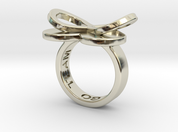 AMOUR in 14k white gold in 14k White Gold: 7 / 54