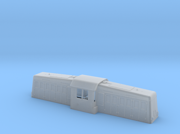 NS 2000 (Whitcomb) body shell 1:87 in Smooth Fine Detail Plastic