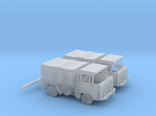 1959 FC150 Pickup Truck with Canvas Top (x2) in Smooth Fine Detail Plastic: 1:160 - N