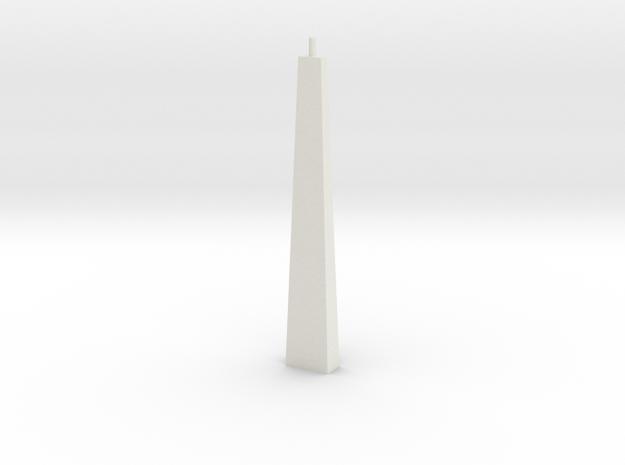 Pylon Wdw Single N 70 in White Natural Versatile Plastic