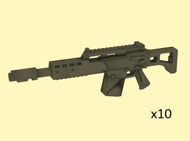 28mm LG36 laser rifle