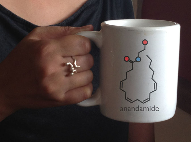 anandamide ring 3d printed