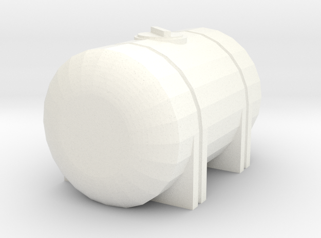 1/64 535 Gallon Tank in White Processed Versatile Plastic