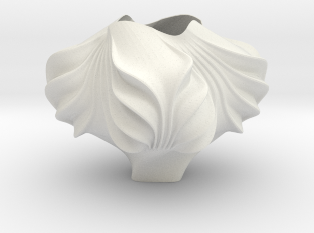 Asymptotic Lampshade in White Strong & Flexible