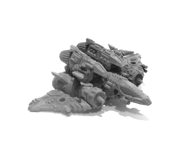 "02-ASV ""Recon"" 3d printed 02-ASV ""Recon"": Jet Mode"
