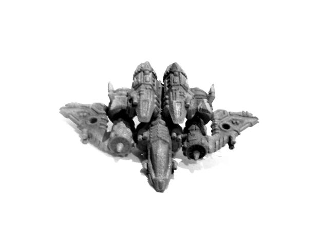 """02-ASV """"Recon"""" 3d printed 02-ASV """"Recon"""": Jet Mode"""