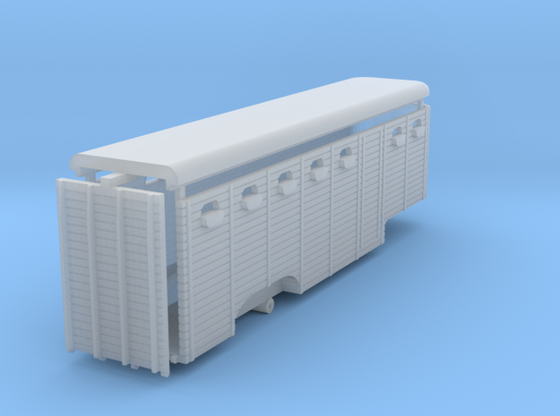 Animal trailer 1:148 in Smooth Fine Detail Plastic