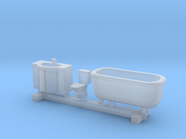 N Scale Bathroom Interior