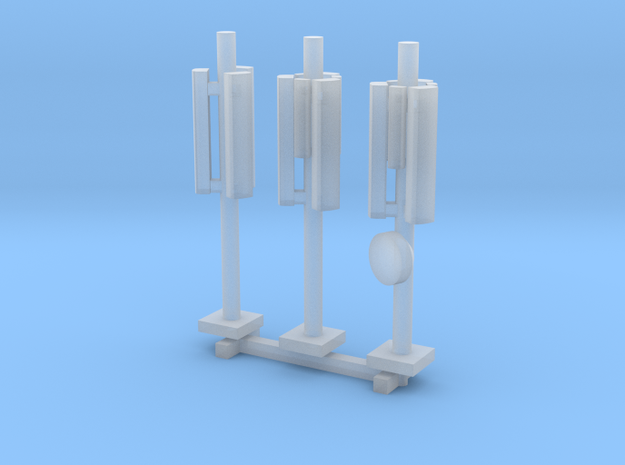 N Scale 3x GSM Rooftop Antenna