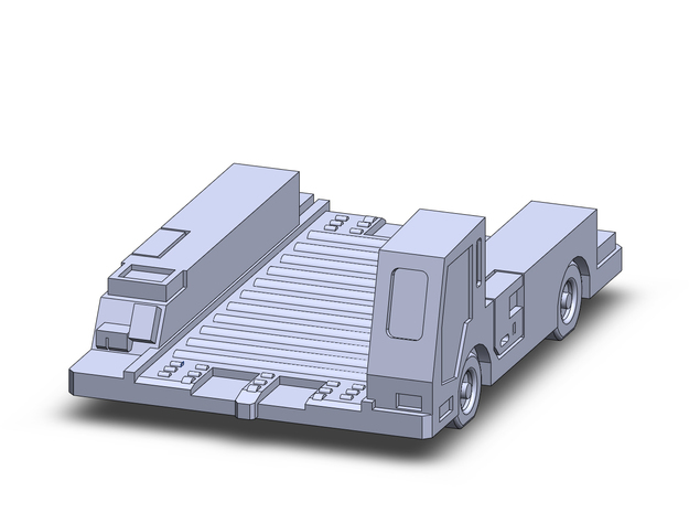 1/400 Pulsar7E Container Transport in Frosted Extreme Detail