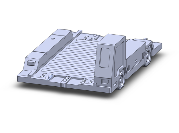 1/400 Pulsar7 Container Transport  in Frosted Extreme Detail