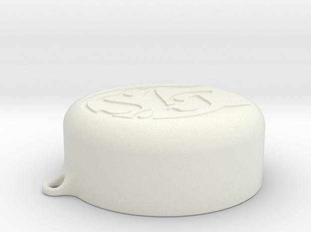 Yi 4K Lenscap in White Natural Versatile Plastic