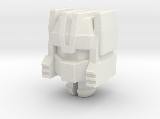 G1 Chase Head for Titans Return Roadburn in White Natural Versatile Plastic