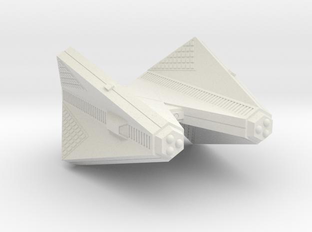 3788 Scale Tholian Cruiser (C) SRZ in White Strong & Flexible