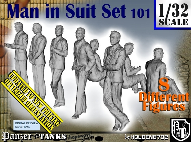 1/32 Man In Suit Set101