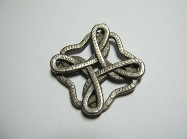Friendship knot 3d printed Close-up face