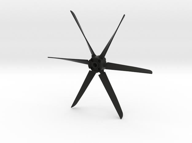 C130 Prop in Black Natural Versatile Plastic