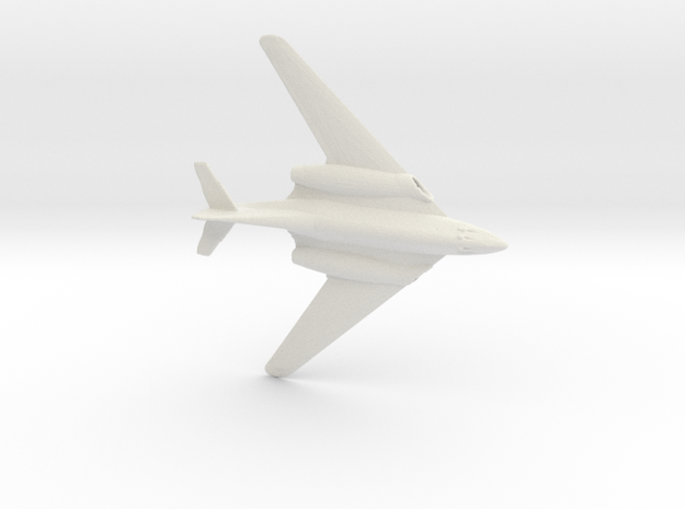 1:200 Me262 Hg III  in White Natural Versatile Plastic