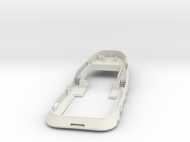 Main Deck & Bullwark 1/100 V56 fits Harbor Tug in White Strong & Flexible