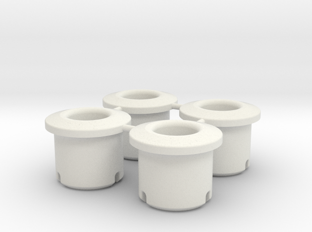 Acura / Honda NSX Door Check Bushings Two Sizes in White Natural Versatile Plastic