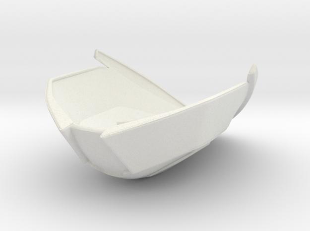 Destiny Mask - Speaker in White Natural Versatile Plastic