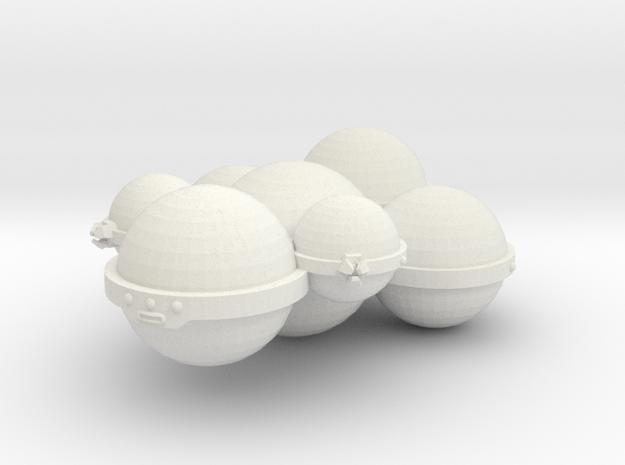 3788 Scale Koligahr Destroyer (DD) MGL in White Natural Versatile Plastic