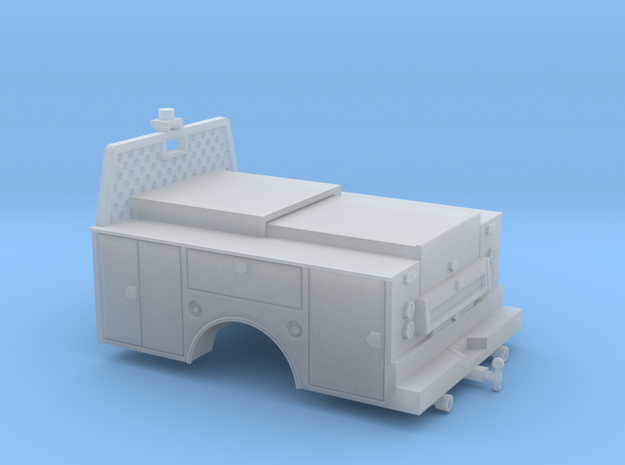 Standard Full Box Truck Bed MOW 1-87 HO Scale