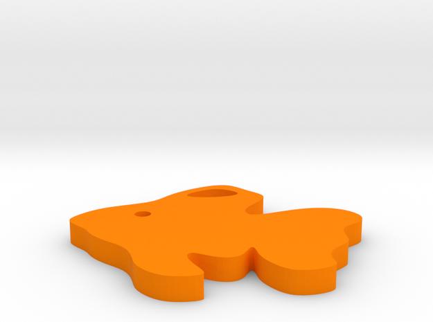 Gold Fish in Orange Processed Versatile Plastic