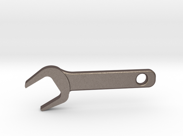 Wrench MM510 in Polished Bronzed Silver Steel