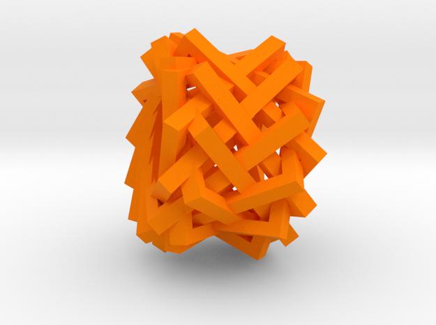 Portal in Orange Processed Versatile Plastic