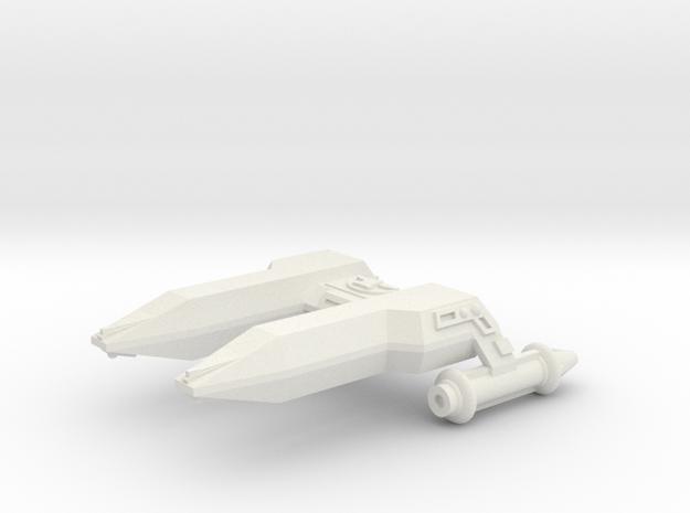 3788 Scale Lyran Cheetah Frigate (FF) CVN in White Natural Versatile Plastic