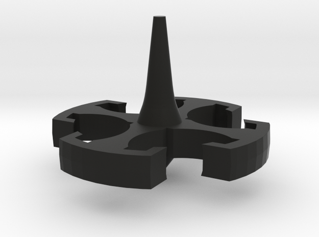 Hammer Top in Black Natural Versatile Plastic