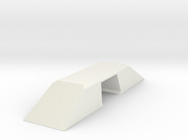 Modern Bridge Double Wide N Scale in White Natural Versatile Plastic