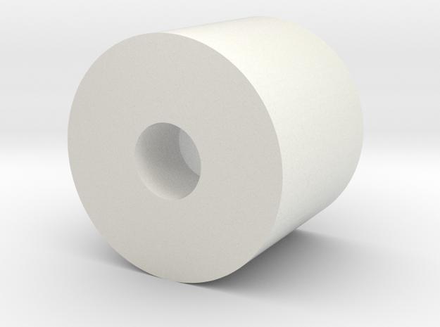 rot_magnet_holder in White Natural Versatile Plastic
