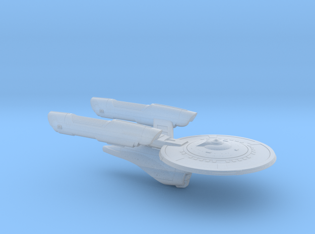 Terran Kearsarge Class Cruiser - 1:7000 in Smooth Fine Detail Plastic
