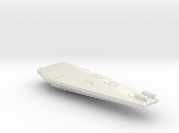 3125 Scale Hydran Knight Destroyer GLP in White Natural Versatile Plastic