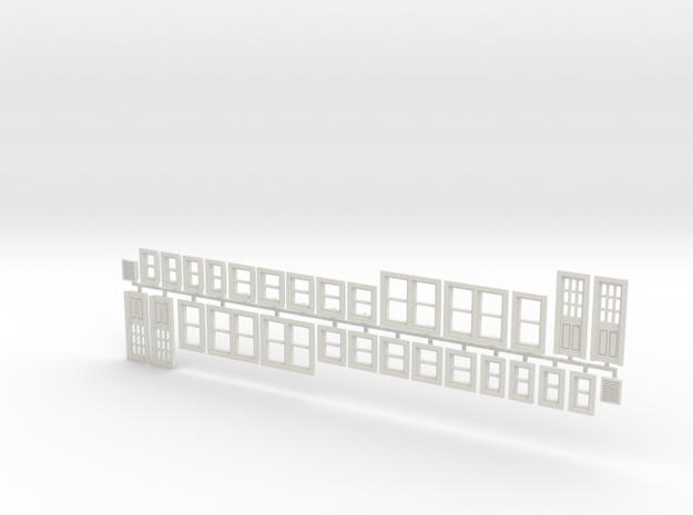 House Window set in HO scale