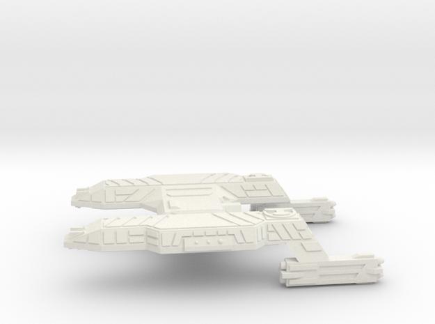 3125 Scale Lyran Tiger Heavy Cruiser (CA) CVN in White Strong & Flexible