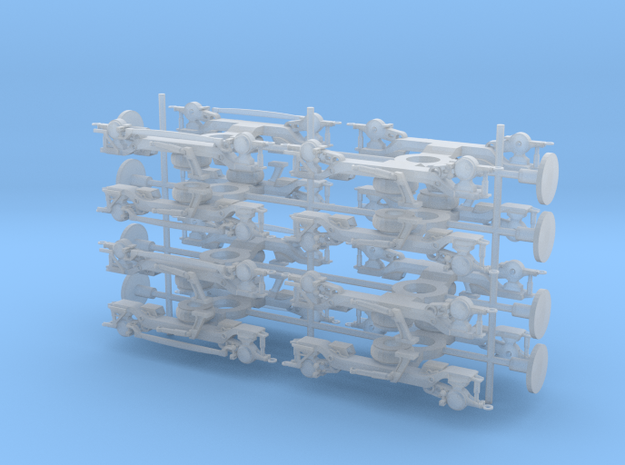Class 378 Bogies in Frosted Ultra Detail