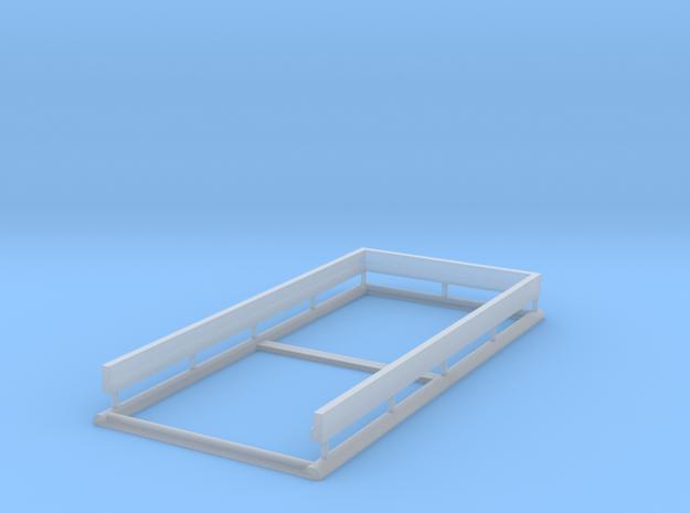 Door Frame 36x80-02 1/35 in Smooth Fine Detail Plastic